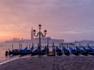Обои Утро в Венеции