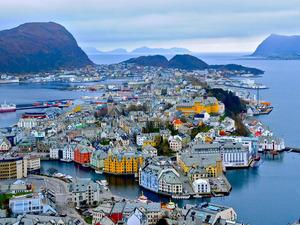Обои Алесунд, Норвегия