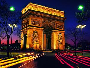 Обои Триумфальная арка, Париж