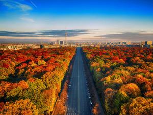 Обои Осенний Берлин