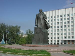 Обои Архангельск, памятник Ленину
