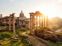 Обои для рабочего стола: Форум, Рим, Италия