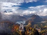 Обои для рабочего стола: Замок Нойшванштайн, Бавария