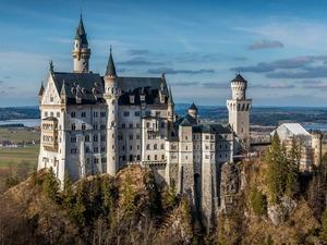 Обои Замок Нойшванштайн, Бавария