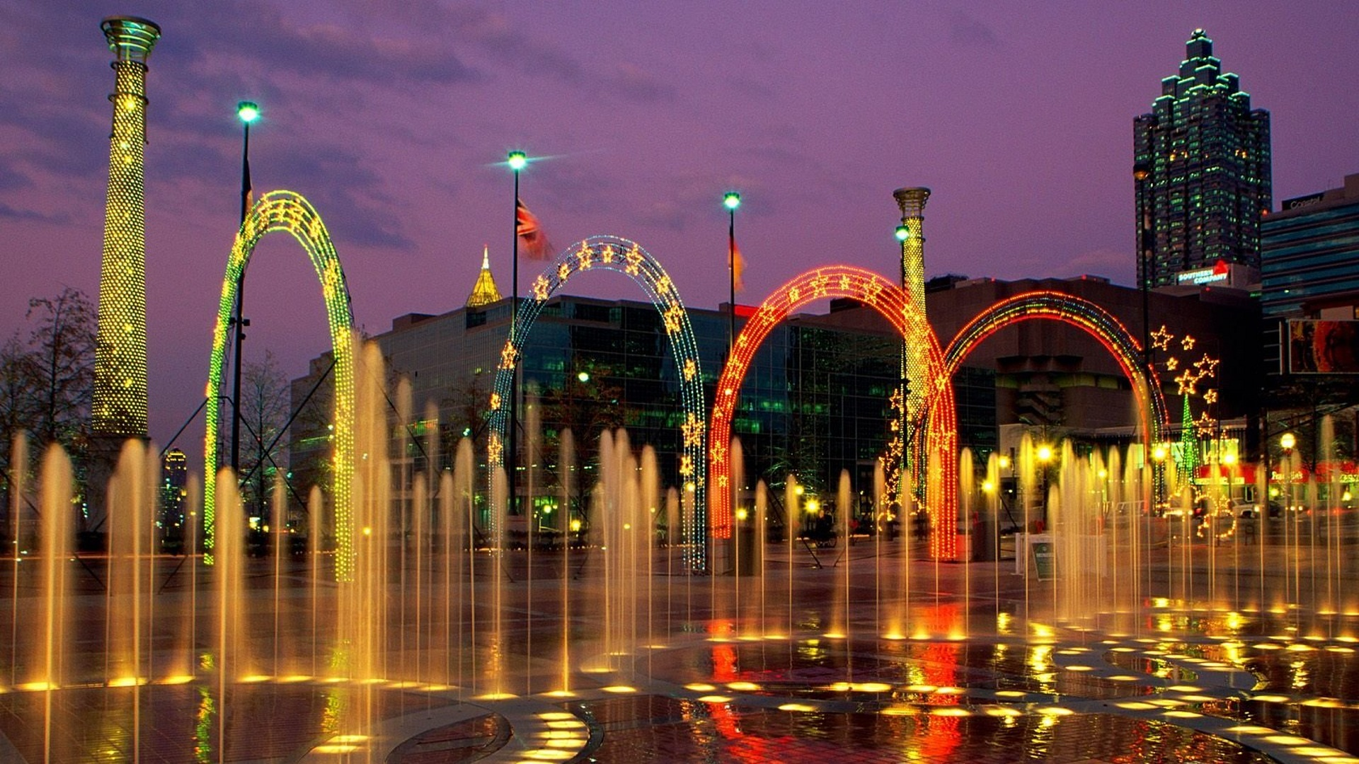 Сентенниал Олимпик парк, Атланта, США