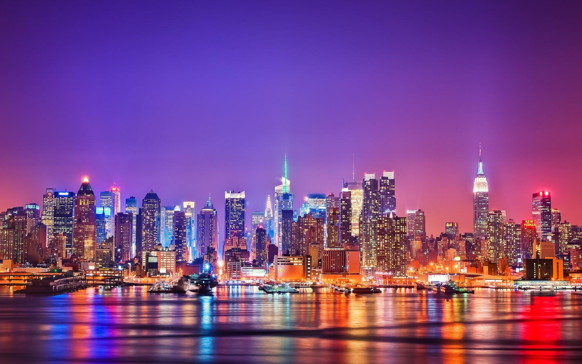 Огни Нью-Йорка, США